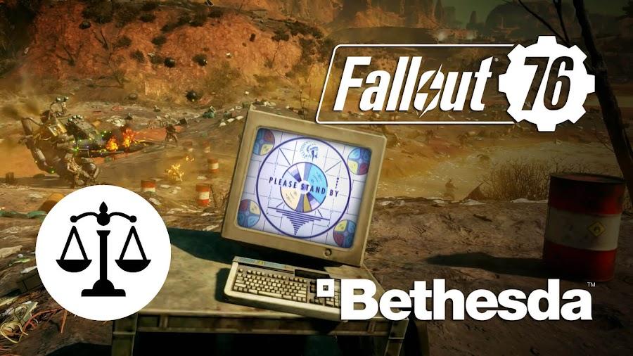 fallout 76 lawsuit backlash bethesda