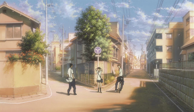 The Girl Who Leapt Through Time with her friends