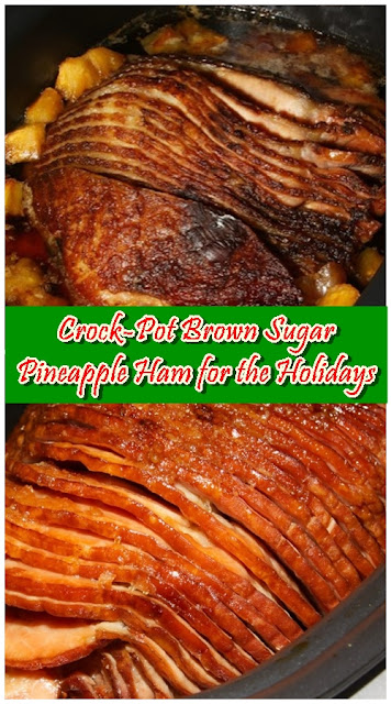 Crock-Pot Brown Sugar Pineapple Ham for the Holidays