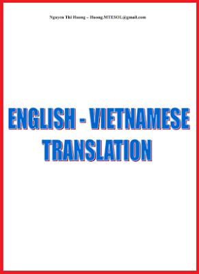 English  - Vietnamese Translation