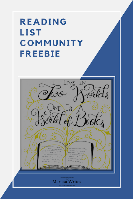 Reading List Community Freebie for Feb 2017