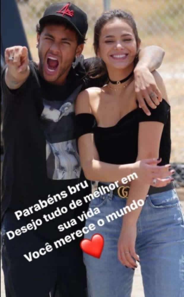 Após reatar o namoro com Bruna, Neymar vira alvo de programa de TV