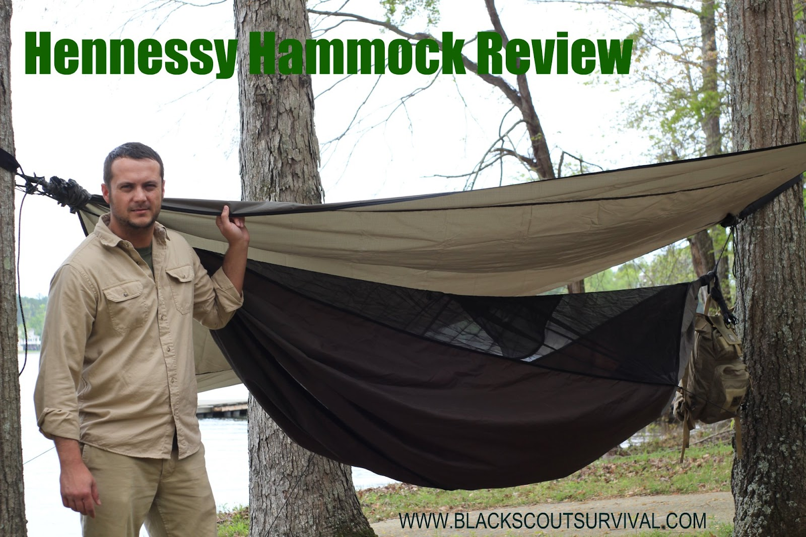 Black Scout Survival Hennessy Hammock Review
