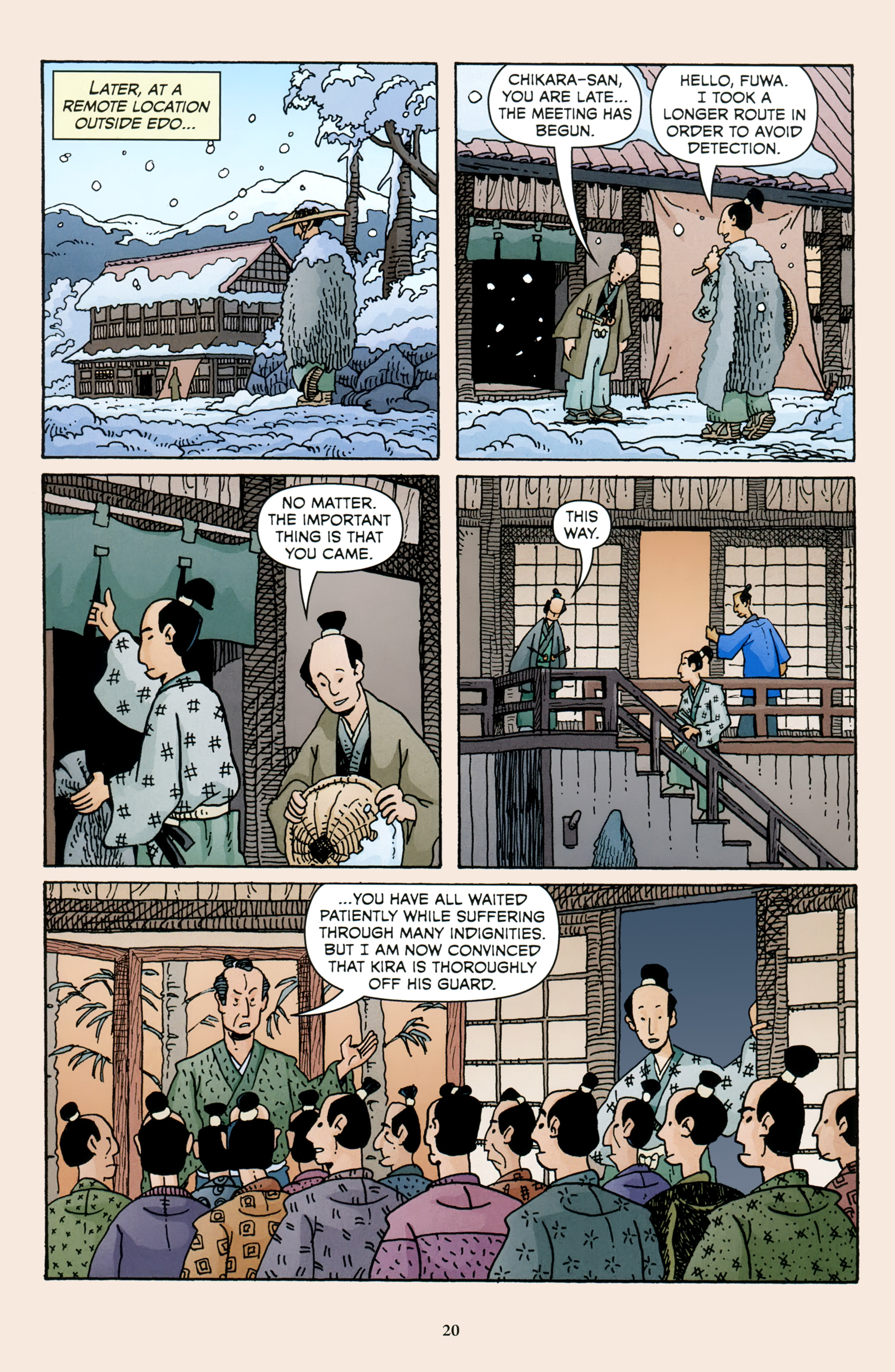 Read online 47 Ronin comic -  Issue #4 - 22