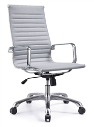 Gray Boardroom Chair
