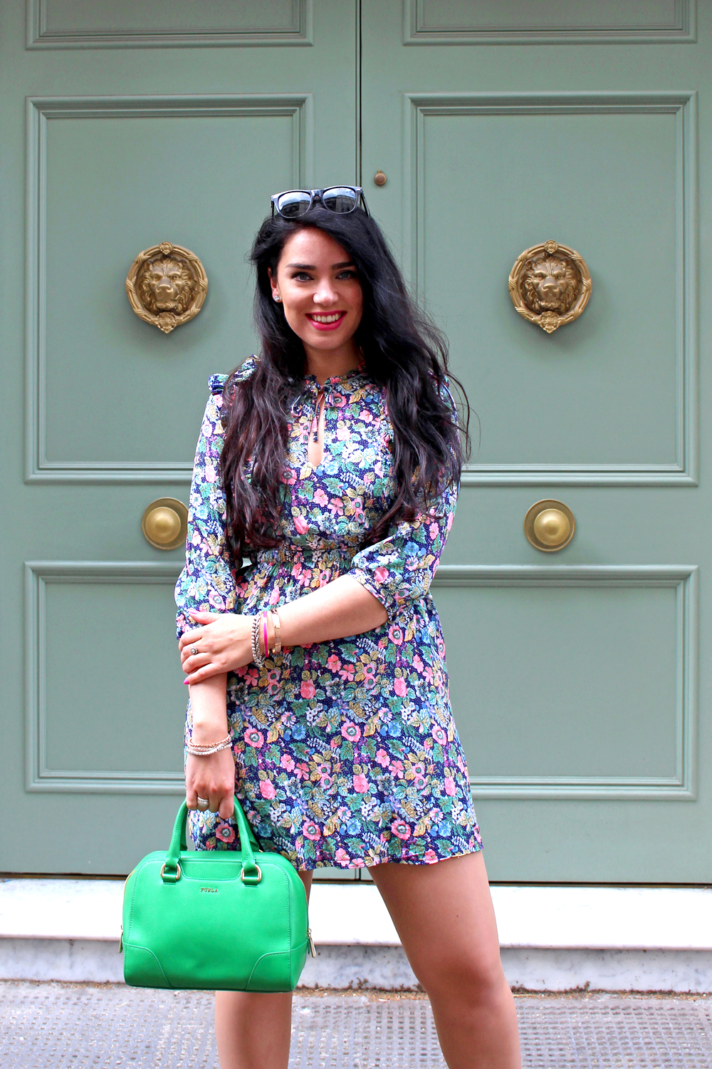 Green & Other Stories dress - London fashion blogger
