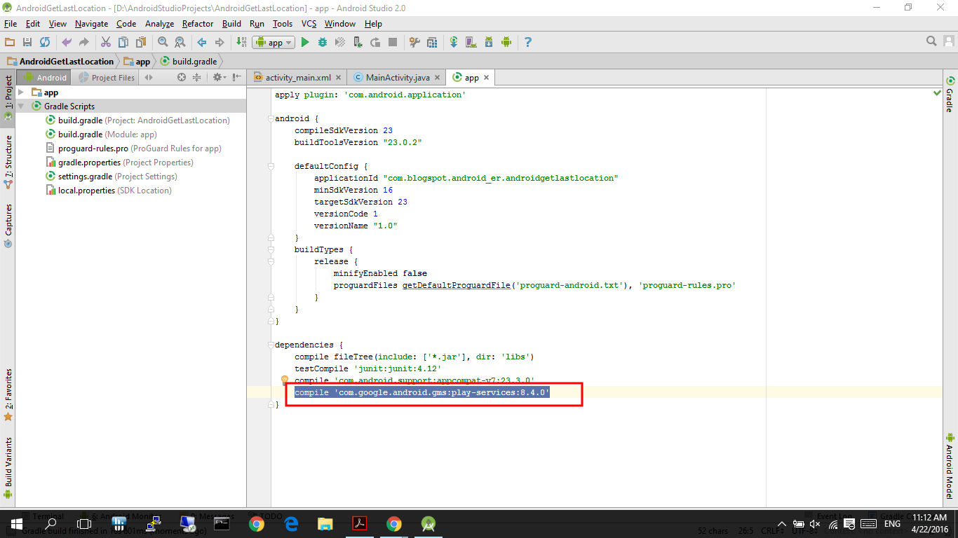 ... Play Services to Android Studio project Modded Android Application