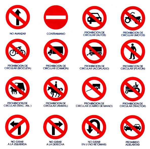 Dibujos De Senales Reglamentarias Imagui