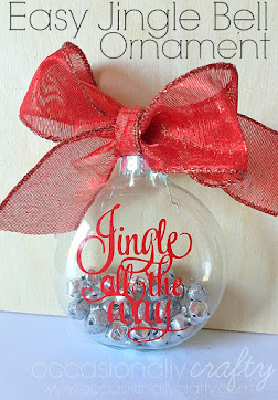 Jingle All the Way Ornament