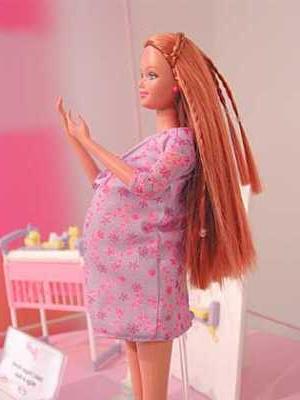 Barbie Pregnant Doll 115