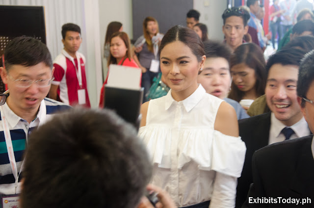 Maxine Medina joins opening of Worldbex 2017 at SMX Convention Center