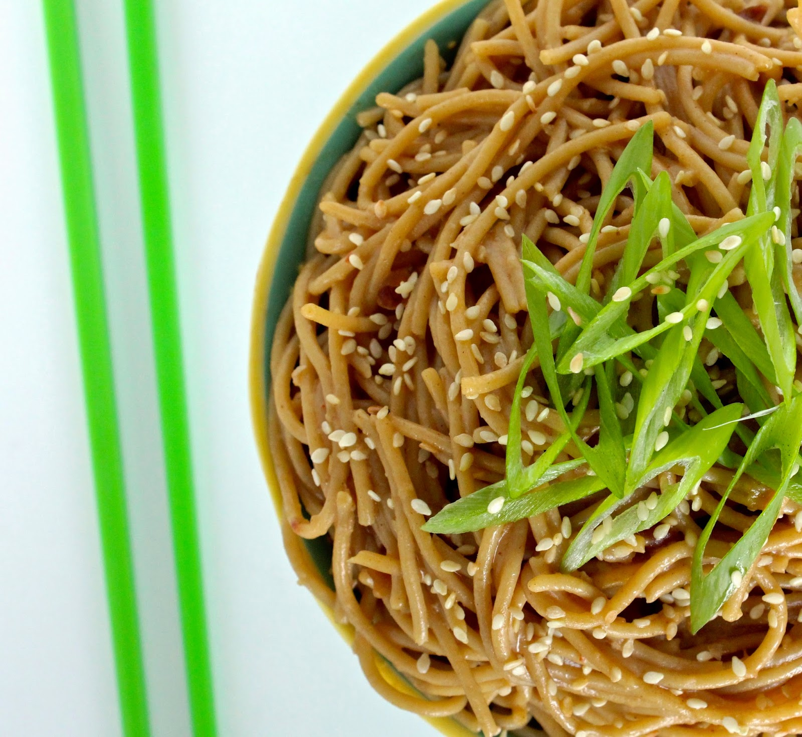 The Foodie Physician: Dining with the Doc: Cold Sesame Noodles
