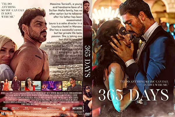 365 Days (365 dni) DVD Cover