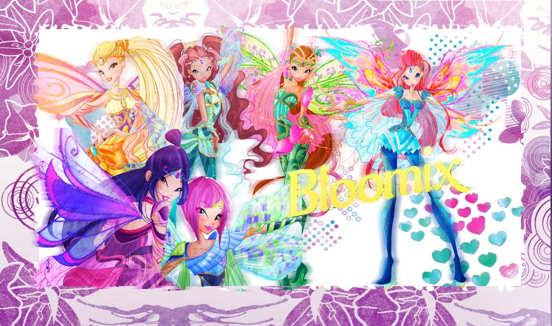 WinxClubInternational: Winx Club Bloomix Wallpaper!