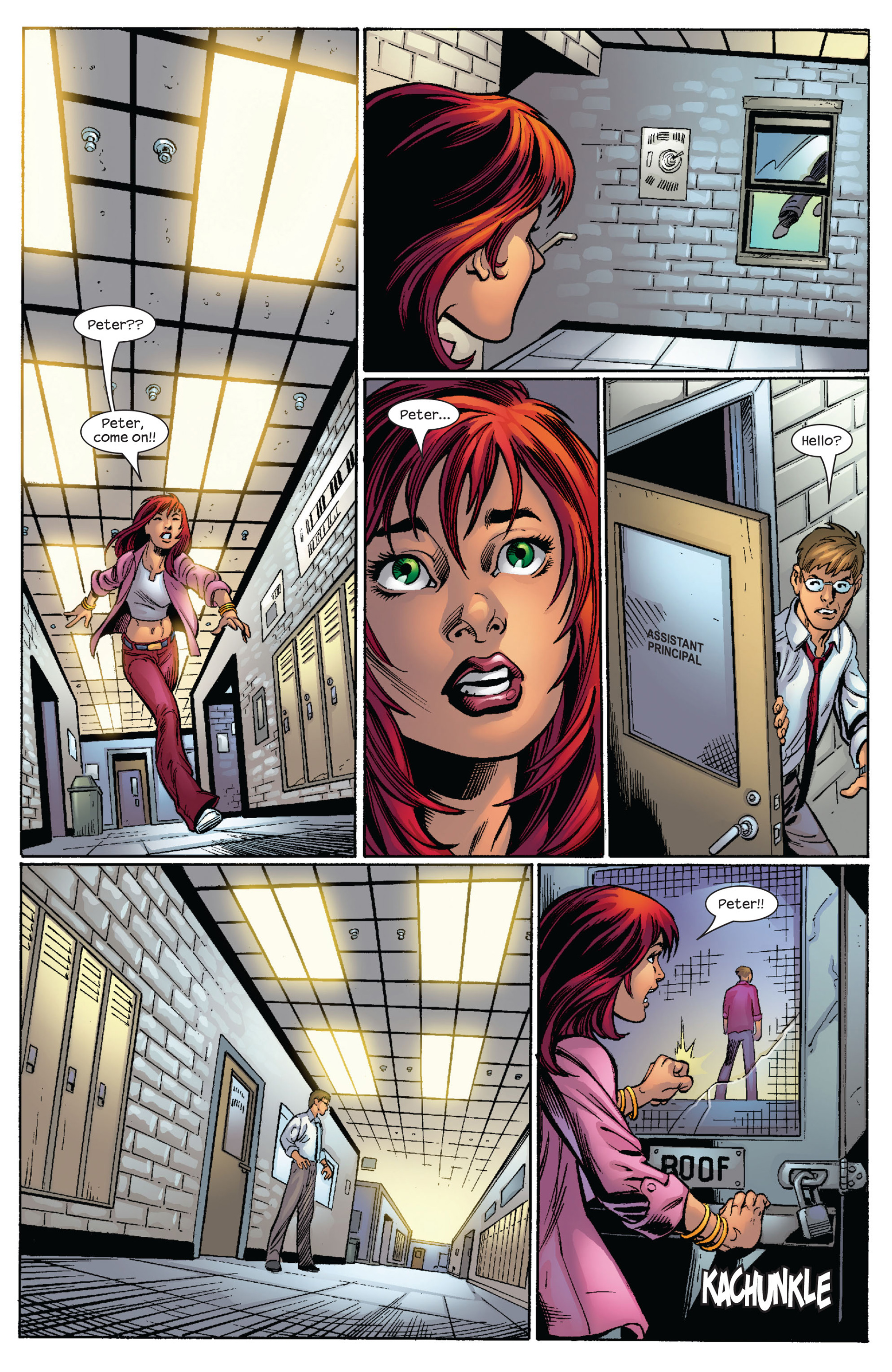 Read online Ultimate Spider-Man (2000) comic -  Issue #65 - 14