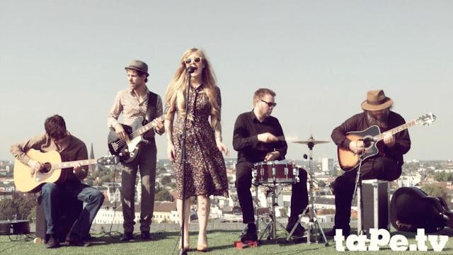 Rhonda band performing