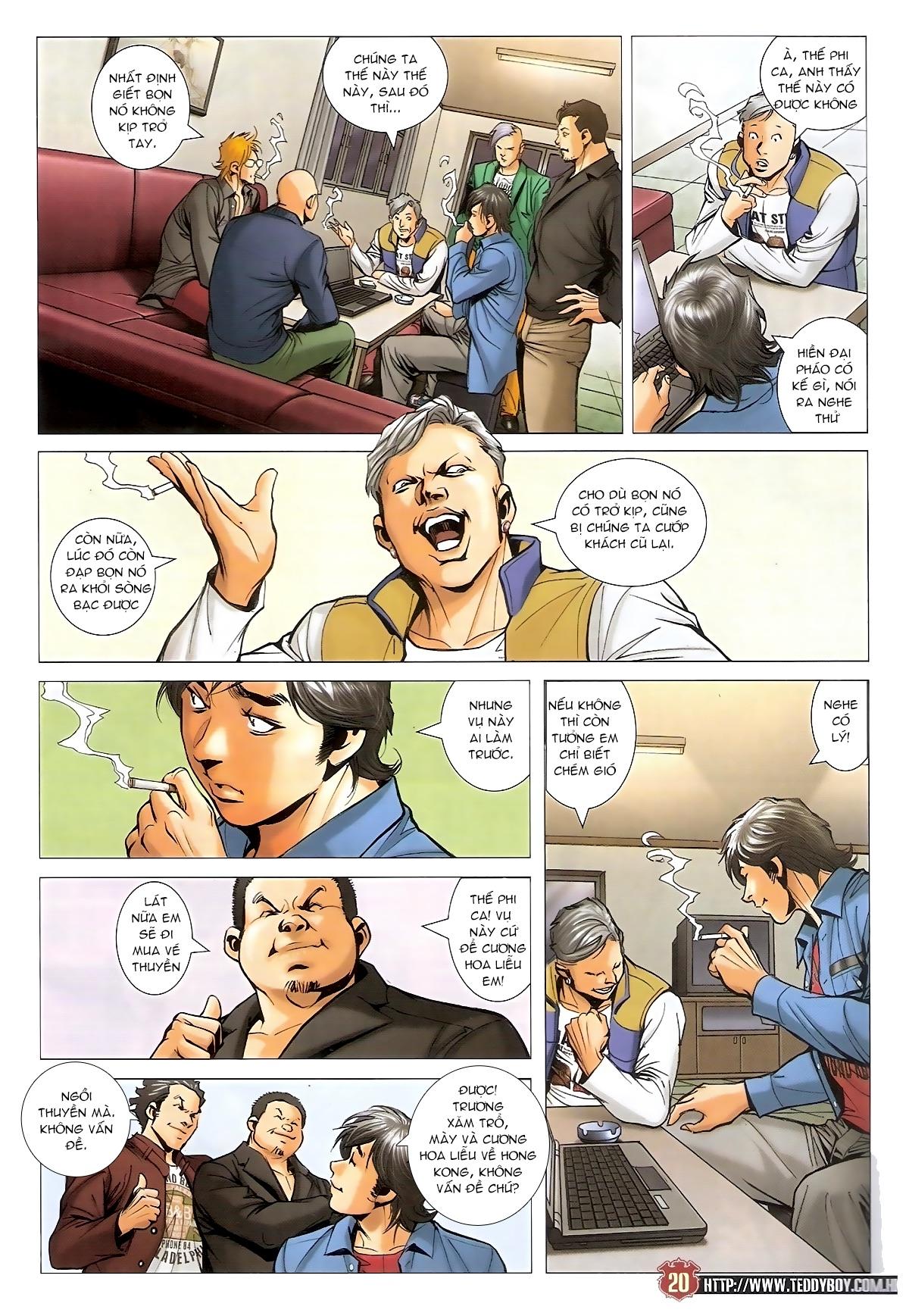 Người Trong Giang Hồ - Chapter 1567: Chơi bẩn - Pic 19