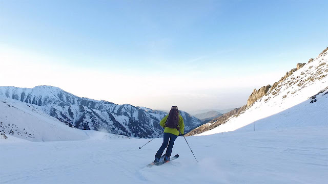 Ο παράδεισος των χειμερινών σπορ βρίσκεται στο Καζακστάν (βίντεο)