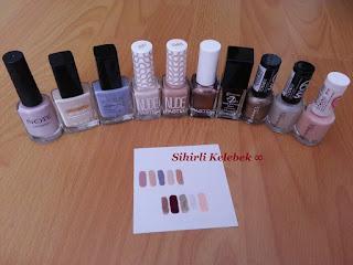 Note, Avon, Pastel Nude, Pastel, Flormar, Rimmel London