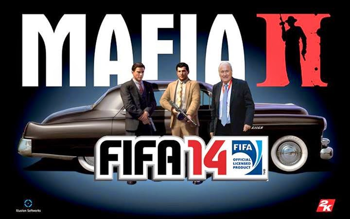 Homenaje a Blatter y Mafia FIFA