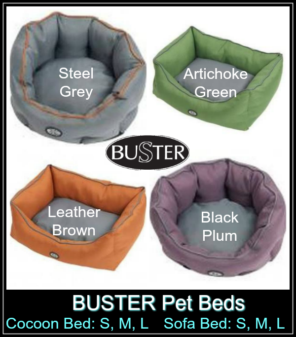 BUSTER pet bed colors