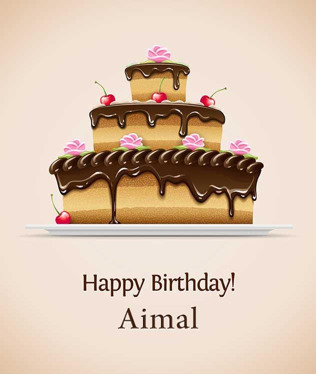 Happy Birthday Aimal