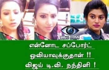 Bigg Boss Tamil – Nandhini Myna