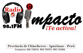 Radio Impacto 98.1 FM Chincheros