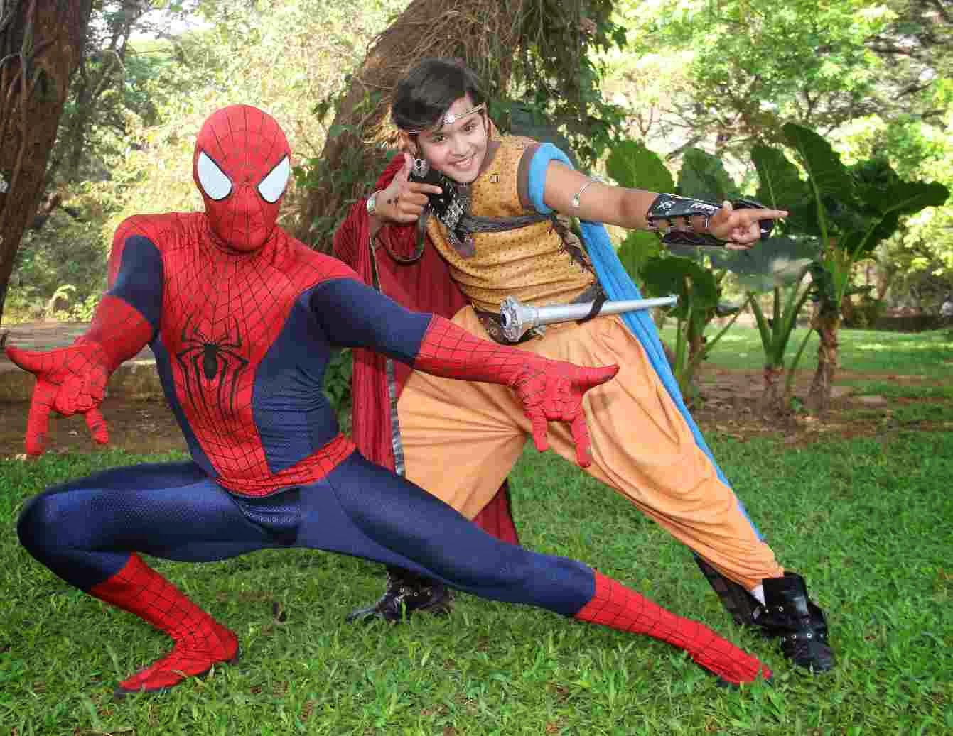 STARFRIDAY : Baal Veer and Spider-Man join forces against evil