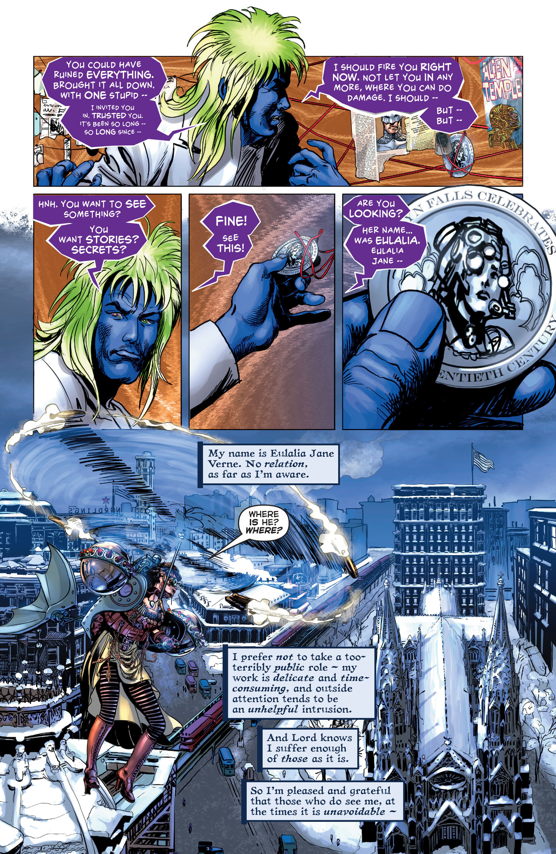 Read online Astro City comic -  Issue #5 - 18