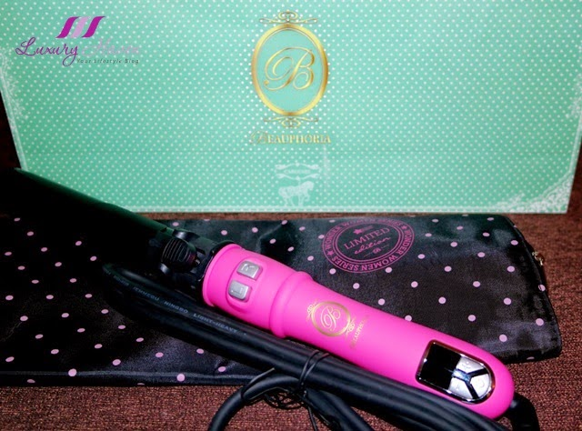 beauphoria pink automatic curling tong review