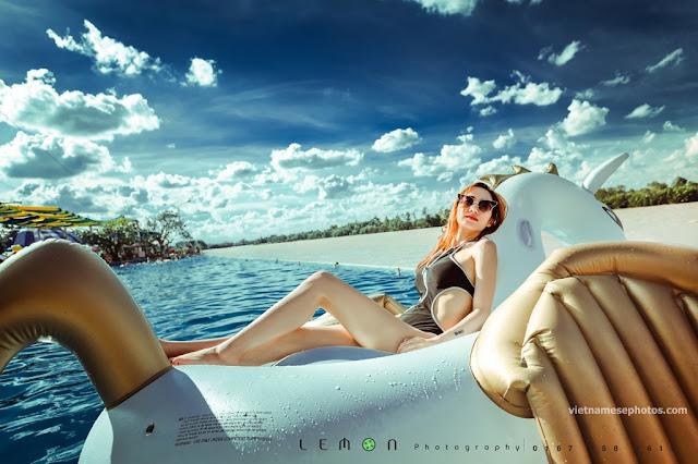 Beautiful Vietnamese girl bikini vol 77 6