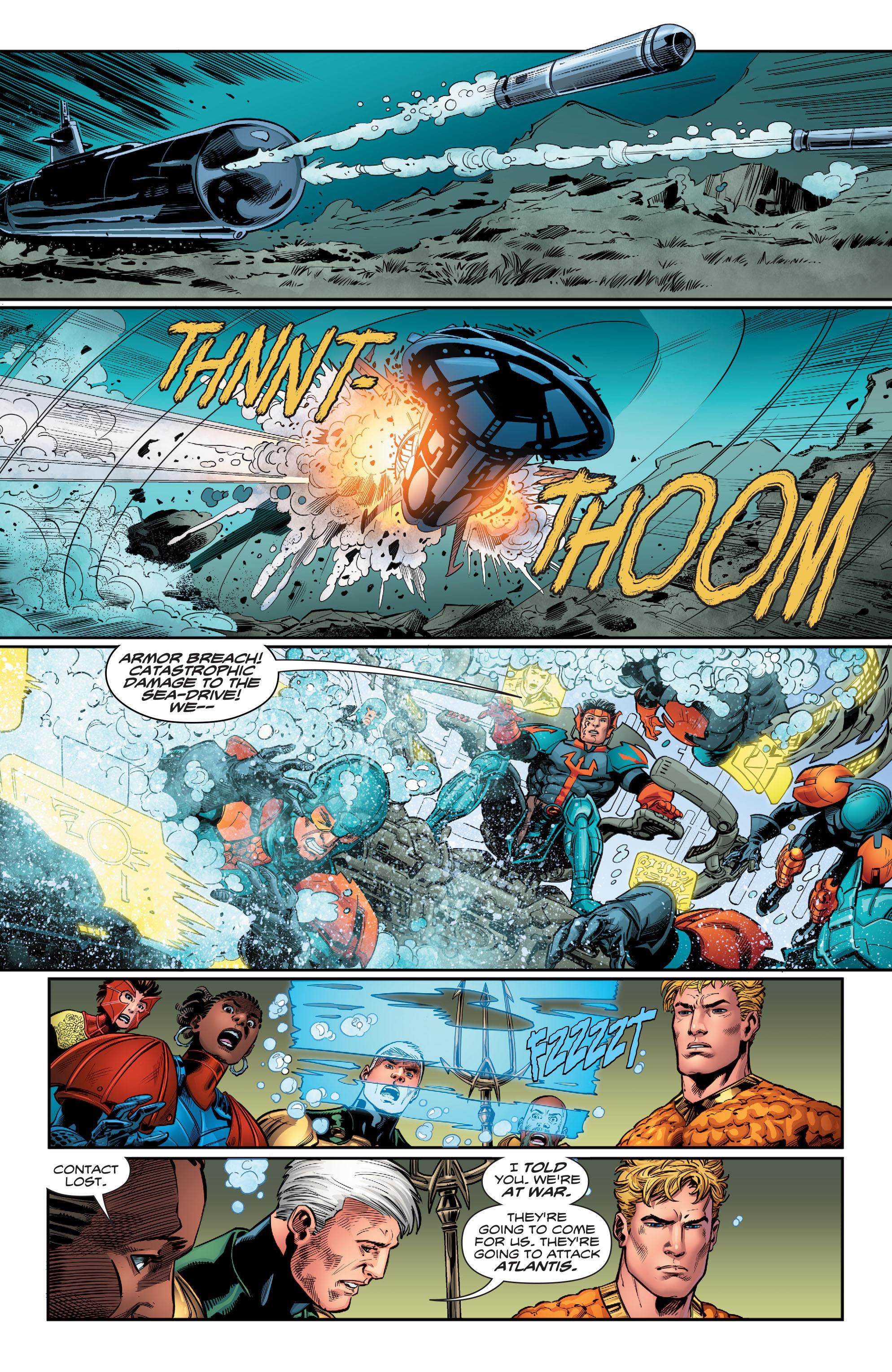 Read online Aquaman (2016) comic -  Issue #12 - 9