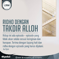 Ridho Dengan Takdir Alloh