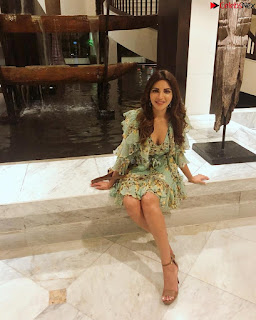 Shama Sikandar Beautiful Stunning Deep neck Gowns Bikini Inners 026.jpg