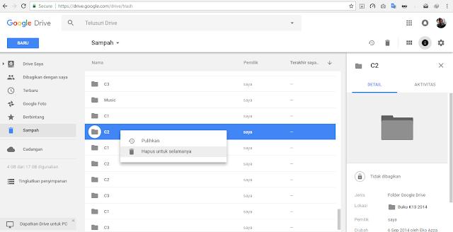 Cara mengatasi penyimpanan Gmail dan Google Drive Penuh
