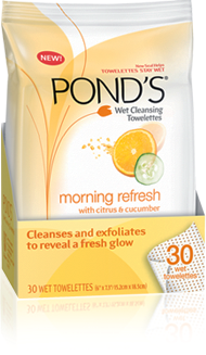 Review: Pond's Wet Cleansing Towelettes