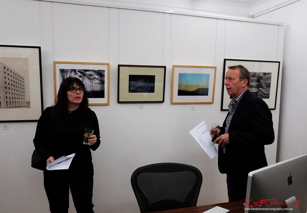 Photography on display at Badger & Fox Gallery for the opening of Click!
