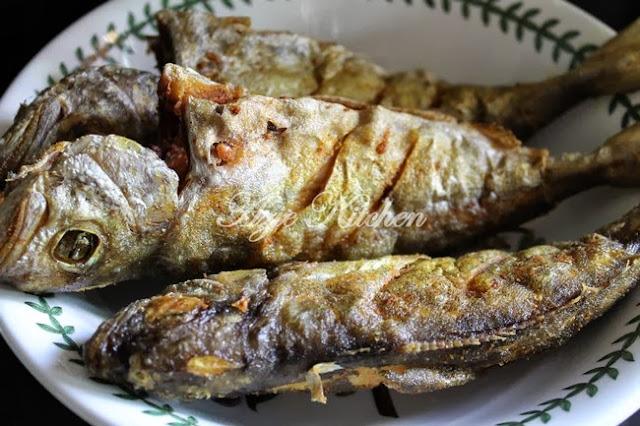 Ikan Aji Aji Masak Kicap Pedas