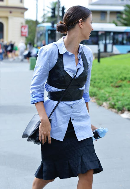 Corsets Street Style