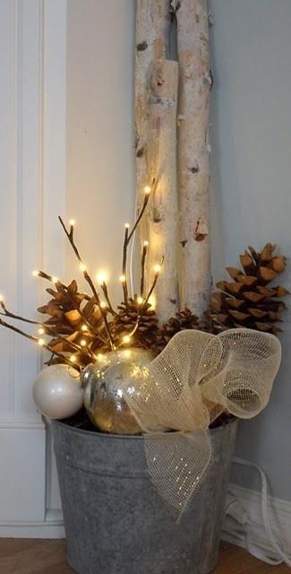 DIY: 35 ideias para sua decoração de Natal