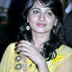 Anushka Cute in Yellow Punjabi Dress Stills