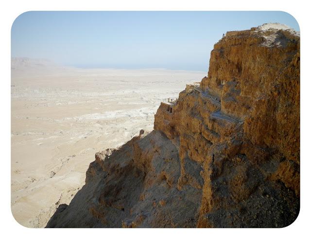 Subida a Masada
