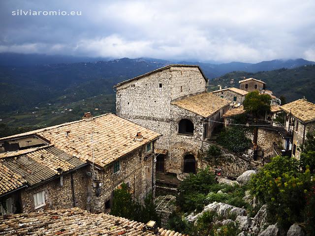 Il borgo antico di Olevano Romano