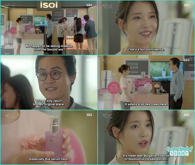 Hae Soo then told they are seling makeup from goreyo era - Moon Lovers Scarlet Heart Ryeo - Episode 20 Finale (Eng Sub)