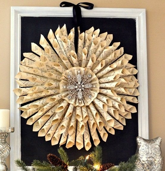 home decoration with newspaper ~ Art Craft Gift Ideas