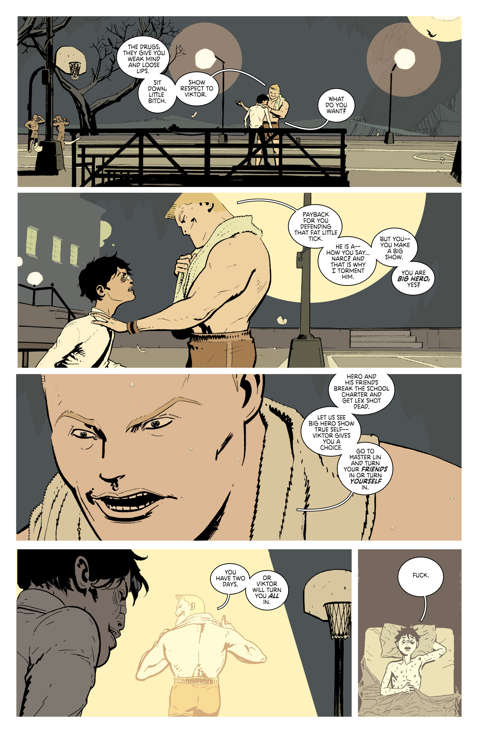 Read online Deadly Class comic -  Issue # _TPB 3 - 81