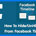 How to Hide Post On Facebook