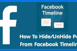 How to Unhide Posts On Facebook 2019