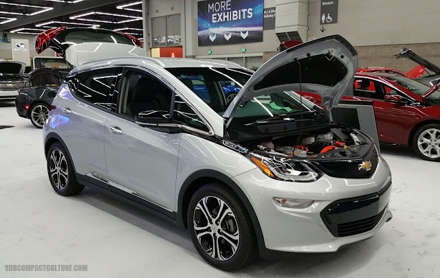 Silver Chevrolet Bolt EV - SUBCOMPACT CULTURE